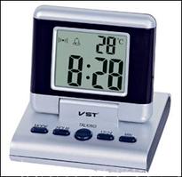 Оригинальный дизайн, часы для прикроватной тумбочки VST 7060-C, со встроенным термодатчиком, Talking