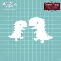 Чипборд Набор динозавров 04, 51*59