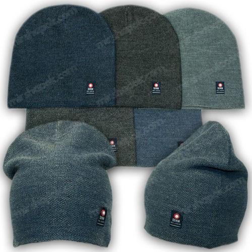 Молодежная вязанная шапка р. 52-54