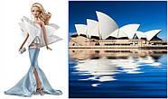Коллекционная кукла Барби «Оперный театр Сиднея» (Sydney Opera House Barbie doll) T7671 Mattel, фото 2