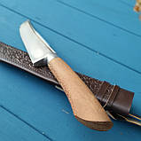 Узбекский нож-пчак с рукоятью из чинары, фото 3