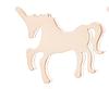 Нові метал сережки сережки єдиноріжки єдиноріг конячка кінь золотисті гвоздики дитячі китай, фото 2