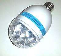 LED диско лампочка, RGB вращающаеся JA-699