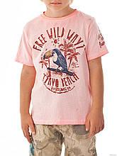 Дитяча футболка для хлопчика BRUMS Італія 151BFFN022 Рожевий