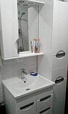 Зеркало для ванной комнаты Альвеус 60-01 Врезная Ручка левое ПИК, фото 2