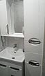 Зеркало для ванной комнаты Альвеус 65-01 Врезная ручка левое ПИК, фото 3