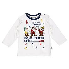 Детская футболка для мальчика BRUMS Италия 143BDFL007 Белый