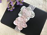 Повязка для волос с цветами hand made 100% ручная работа, фото 5