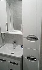 Пенал для ванной комнаты Альвеус 35-03 (Врезная Ручка) правый ПИК, фото 2