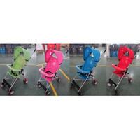 Коляска-трость TILLY Summer BT-SB-0005А  4 цвета /4/ колесо 4,5*