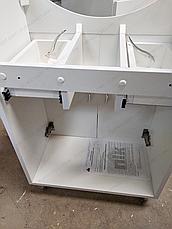 Тумба под раковину для ванной комнаты Аэрография 60-09 с умывальником Либра  Лилия, фото 2