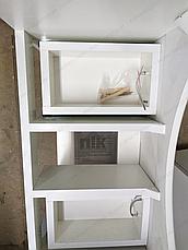 Тумба под раковину для ванной комнаты Аэрография 60-09 с умывальником Либра  Лилия, фото 3