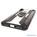 Чохол Combo Ring під магнітний тримач Xiaomi Redmi 7 black, фото 2