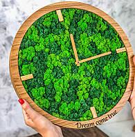 Часы с мохом., фото 1