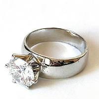Кольцо Вечная классика, родиевое покрытие