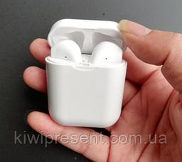 Беспроводные наушники i9 TWS White, аналог AirPods (блютуз гарнитура), фото 3