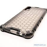 Ударопрочный чехол Honeycomb Samsung A30s/A50/A50s black, фото 7