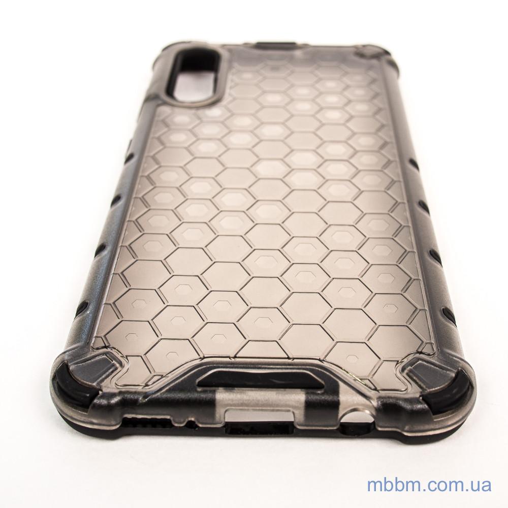 Ударопрочный чехол Honeycomb Samsung A30s A50s black Черный Galaxy A50