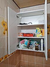 Шкаф навесной для ванной комнаты Базис 80-02 ПИК, фото 3