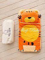Детский комплект постельного белья Слипик тигренок sleep baby, размер 120х60 см