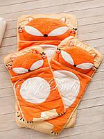 Детский комплект постельного белья Слипик лесенок sleep baby, размер 120х60 см