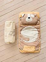 Детский комплект постельного белья Слипик щенок sleep baby, размер 120х60 см