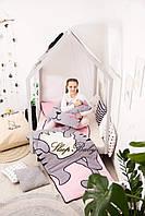 Детский комплект постельного белья Раздельный Слипик Котенок sleep baby, размер 120х60 см, фото 1