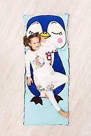 Детский комплект постельного белья Раздельный Слипик Пингвин sleep baby, размер 120х60 см