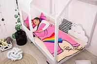 Детский комплект постельного белья Раздельный Слипик Пони sleep baby, размер 120х60 см