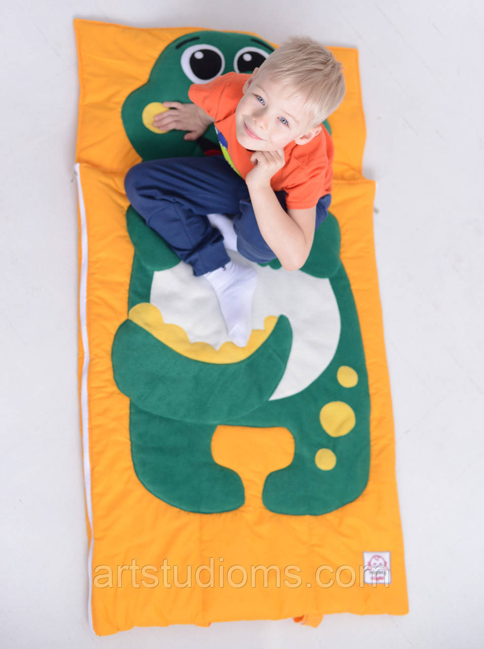 Комплект детского постельного белья слипик Дино, размер S, 120х60 см, для деток до 2-2,5 лет