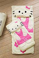 Детский комплект постельного белья Слипик кити sleep baby, размер 170х70 см