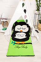 Детский комплект постельного белья Раздельный Слипик Сова sleep baby, размер 170х70 см, фото 1