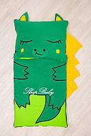 Дитячий комплект постільної білизни Роздільний Слипик Дракон baby sleep, розмір 170х70 см, фото 1
