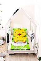 Детский комплект постельного белья Раздельный Слипик Ципленок sleep baby, размер 170х70 см, фото 1