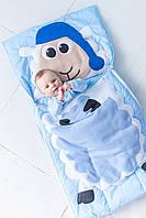 Комплект детского постельного белья слипик Барашек, размер L, 170х70 см, для деток до 8 лет