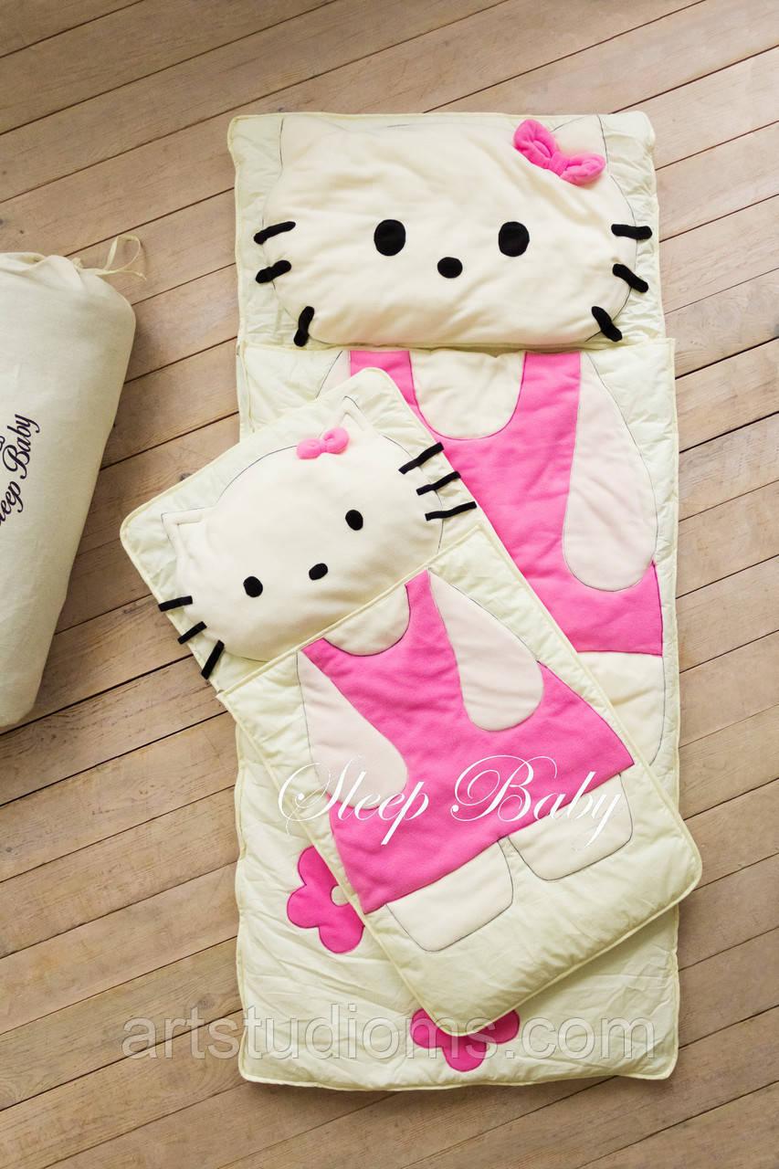 Дитячий комплект постільної білизни Слипик кіті baby sleep, розмір 200х90 см