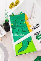 Детский комплект постельного белья Раздельный Слипик Дракон sleep baby, размер 200х90 см, фото 1