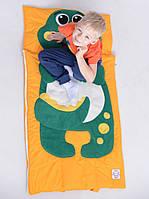 Комплект детского постельного белья слипик Дино, размер XL, 200х90 см, для деток до 14 лет