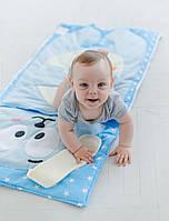 Комплект детского постельного белья слипик Зайка, размер M, 140х70 см, для деток до 4 лет