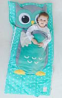 Комплект детского постельного белья слипик Совенок, размер M, 140х70 см, для деток до 4 лет, фото 1