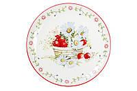 Тарелка фарфоровая 20.3 см Земляничная фантазия BonaDi 940-134