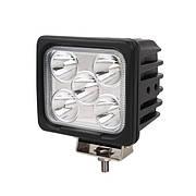 Фара дополнительная LED 15W (5x3W Epistar) квадратная, 1100lm, 9-32V (Flood) 950-990310003
