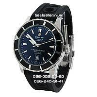 Часы Breitling SuperOcean Heritage 46mm Black/Silver. Реплика: AAA, фото 1