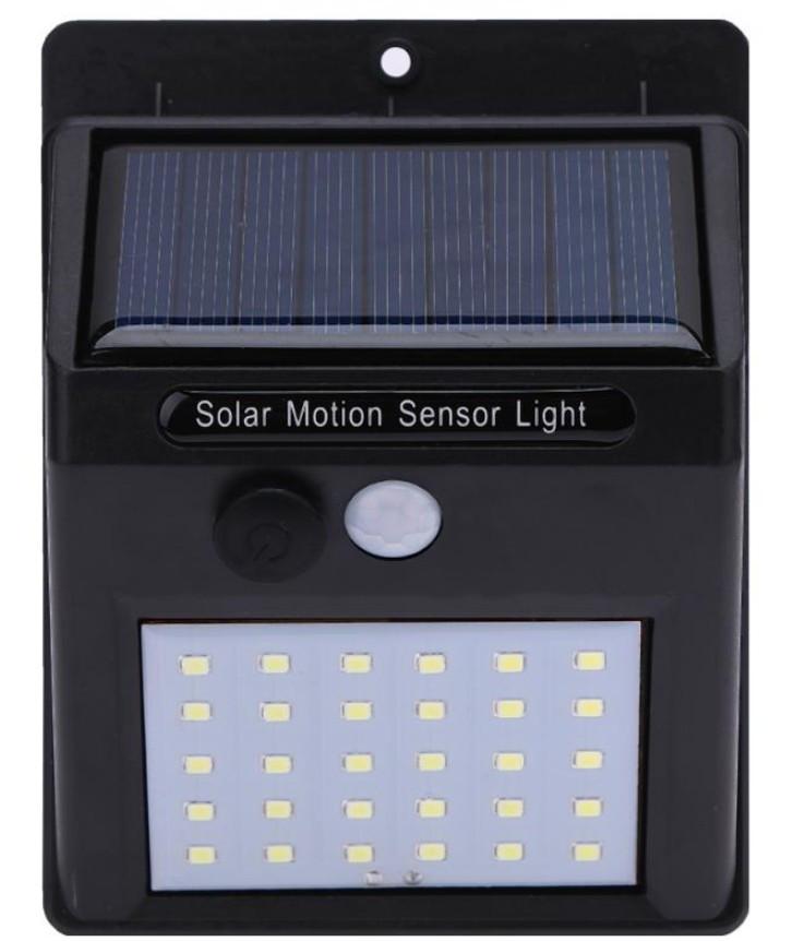 Світильник сонячний 30 led з датчиком руху
