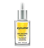 Питающее и восстанавливающее масло для лица Ayoume Face Oil 30 мл