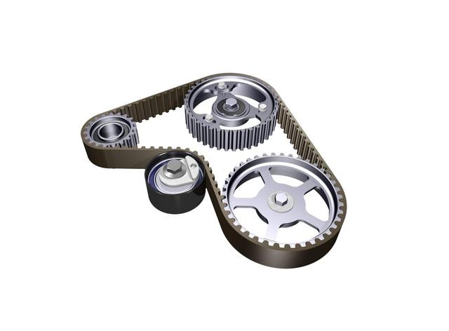 Ролики, ремни привода и генератора VW Caddy III 2004-