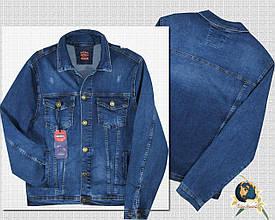 Модная мужская джинсовая куртка на пуговицах