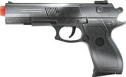 """Игрушечное оружие QUNXING """"Пистолет"""", черный (110-6-1)"""
