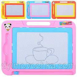 Досточки для рисования DZ-9812 ч/б, ручка, 4 цвета