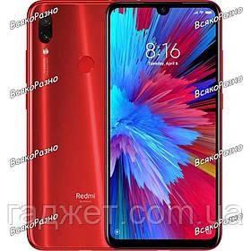 Смартфон Xiaomi Redmi Note 7 4/64 GB красного цвета.
